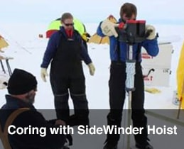 Coring with Sidewinder Gallery